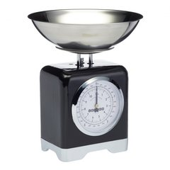 Весы кухонные механические Lovello Retro Black Kitchen Craft LOVSCALESBLK