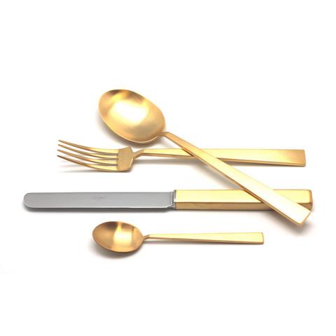 Набор столовых приборов (24 предмета / 6 персон) Cutipol BAUHAUS GOLD 9322
