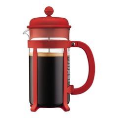Кофейник френч-пресс Bodum Java 1 л. красный 1908-294