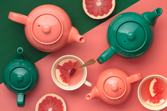 Чайник заварочный Bright Colours 1,1 л изумрудный P&K P_0056.780