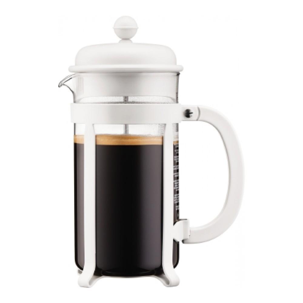 Кофейник френч-пресс Bodum Java 1 л. белый