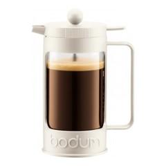 Кофейник френч-пресс Bodum Bean 1 л. белый 11376-913