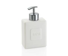 Диспенсер для жидкого мыла «Bath» белый и хром Andrea House BA64276