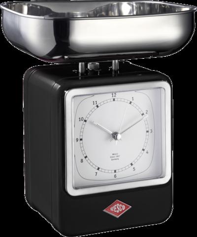 Весы с часами Wesco 322204-62