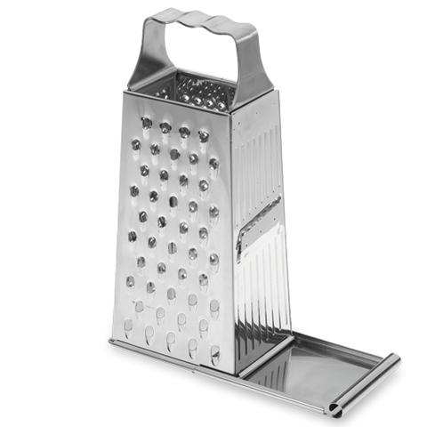 Терка с поддоном, 4 стороны, высота 24 см, нержавеющая сталь Westmark Technicus Square арт. 11382270