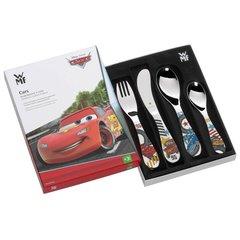 Набор детских столовых приборов (4 предмета / 1 персона) WMF CARS 3201002487