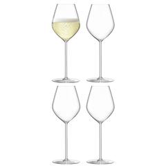 Набор из 4 бокалов для шампанского Borough 285 мл LSA International G1620-10-301
