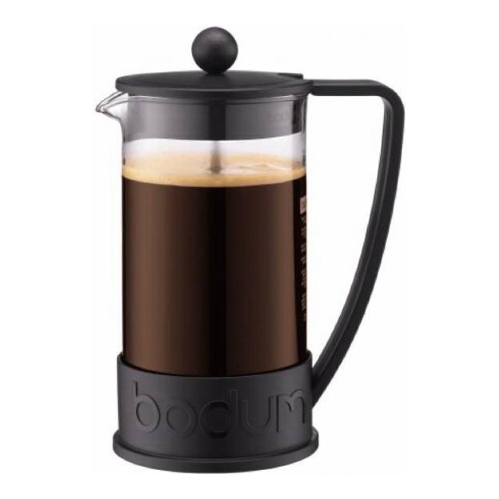Кофейник френч-пресс Bodum Brazil 1 л. черный
