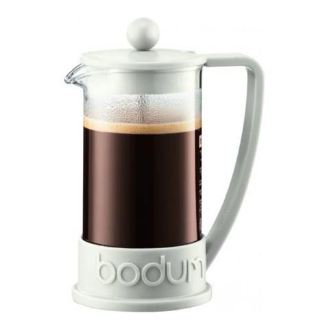 Кофейник френч-пресс Bodum Brazil 1 л. белый