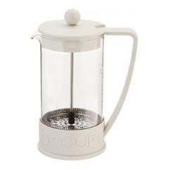 Кофейник френч-пресс Bodum Brazil 1 л. белый 10938-913