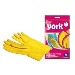 Перчатки хозяйственные резиновые, размер (M) York 092020