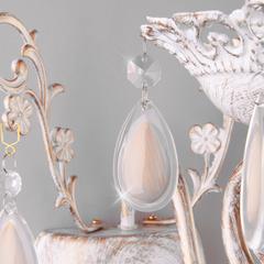Классическое бра Eurosvet Galatea 10009/1 золото с белым