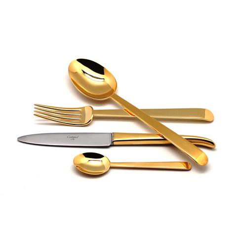 Набор столовых приборов (24 предмета / 6 персон) Cutipol ERGO GOLD 9121