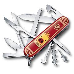Нож Victorinox Huntsman LE 2019, 91 мм, 16 функций, красный,