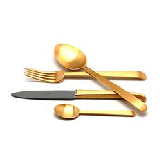 Набор столовых приборов (24 предмета / 6 персон) Cutipol ERGO GOLD 9122
