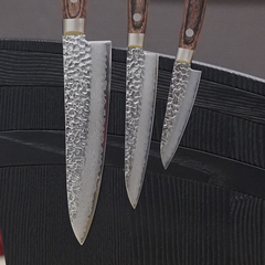 Комплект из 3 ножей Suncraft Senzo Universal и подставки 207525385