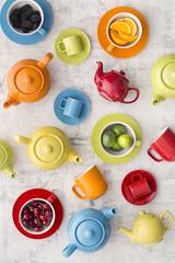 Чайник заварочный Bright Colours 1,1 л салатовый P&K P_0056.756