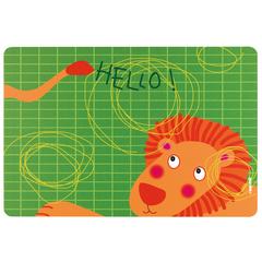 Коврик сервировочный детский Hello лев Guzzini 22606652L