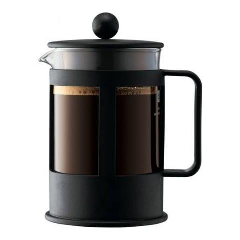 Кофейник френч-пресс Bodum Kenya 0,5 л. черный