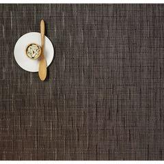 Салфетка подстановочная, жаккардовое плетение, винил, (36х48) Chocolate (100105-008) CHILEWICH Bamboo арт. 0025-BAMB-CHOC