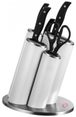 Набор из 4 ножей, ножниц и подставки Wesco 322631-01