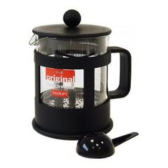 Кофейник френч-пресс Bodum Kenya 0,5 л. черный 1784-01