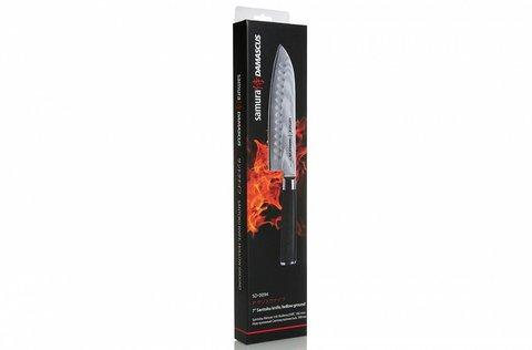 Нож кухонный стальной Сантоку Samura Damascus SD-0094/K