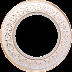 Рамка на 1 пост (белое золото) WL70-frame-01 Werkel