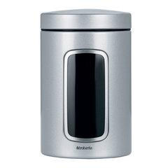Контейнер для сыпучих продуктов с окном 1,4л Brabantia 243509