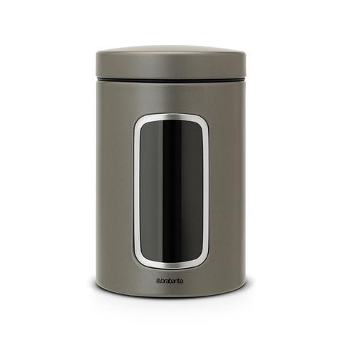 Контейнер для сыпучих продуктов с окном 1,4л Brabantia 288425