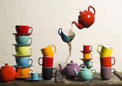Чайник заварочный Bright Colours 1,5 л красный P&K P_0056.766