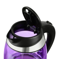 Чайник электрический Starwind (1,8 литра) 2200 Вт, LED подсветка, фиолетовый SKG2217