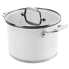 Кастрюля 20см (4,2 л) LACOR Cookware White арт. 43120