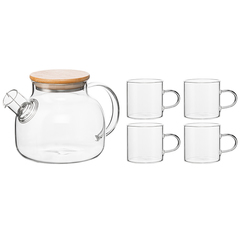 Чайный набор Smart Solutions  из чайника и 4 чашек ZQ-TS1000_0