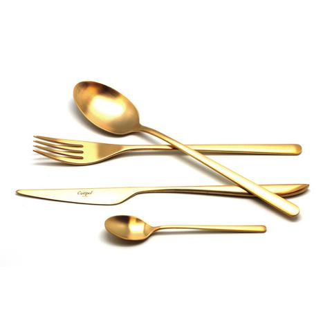 Набор столовых приборов (24 предмета / 6 персон) Cutipol ICON GOLD 9252