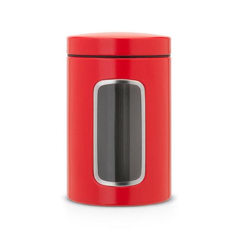 Контейнер для сыпучих продуктов с окном 1,4л Brabantia 484063