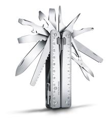 Мультитул Victorinox SwissTool X, 115 мм, 26 функций, синтетический чехол 3.0327.H