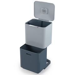 Контейнер для мусора с двумя баками Totem Max Sky 60 л Joseph Joseph 30093