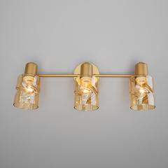 Настенный светильник с выключателем Eurosvet Ansa 20120/3 перламутровое золото