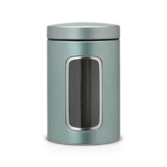 Контейнер для сыпучих продуктов с окном 1,4л Brabantia 484360