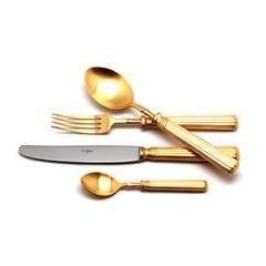 Набор столовых приборов (24 предмета / 6 персон) Cutipol LINE GOLD 9172