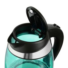 Чайник электрический Starwind (1,8 литра) 2200 Вт, LED подсветка, бирюзовый SKG2219