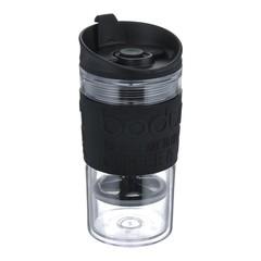 Термокружка с прессом Bodum Travel 0,35 л. черная 11102-01