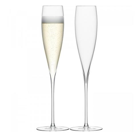 Бокал-флейта для шампанского Savoy 2 шт. прозрачный LSA G246-07-301