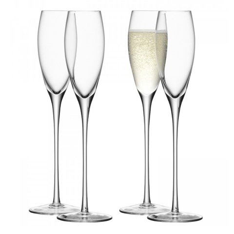 Бокал-флейта для шампанского Wine 4 шт. LSA G279-07-991