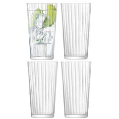 Набор из 4 стаканов для сока Gio Line 320 мл LSA International G059-11-304