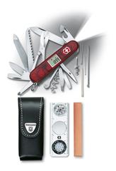 Нож Victorinox Expedition Kit, 91 мм, 41 функция, полупрозрачный красный 1.8741.AVT