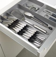 Органайзер для столовых приборов и кухонной утвари Joseph Joseph DrawerStore серый 85127