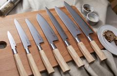 Нож кухонный Сантоку 167мм SUNCRAFT SENZO Twisted Octagon TO-04
