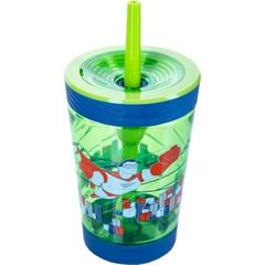Детский стакан для воды с трубочкой Contigo Spill Proof Tumbler (0.42 литра), зеленый contigo0770